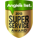 Angie's list - 2013 Super Service Award Winner